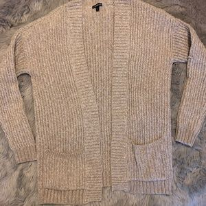 Express Oversized Cable Cardigan